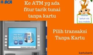 Gambar 6 - 10 Langkah Mudah Cara Tarik Tunai di ATM dengan BCA Mobile
