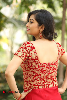 Actress Tejaswini Pictures in Long Dress at Kannullo Nee Roopame Movie Opening Opening  0152.JPG
