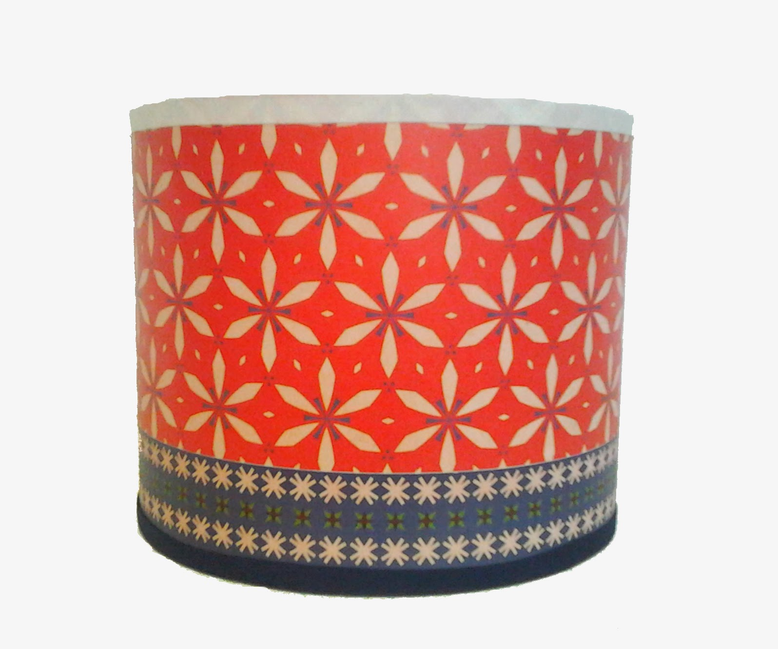 agn s michonneau abat jour vintage heidi rouge. Black Bedroom Furniture Sets. Home Design Ideas