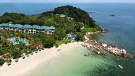 destinasi wisata tanjung lesung beach