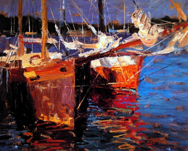 Charles Warren Mundy 1945 | American Impressionist painter