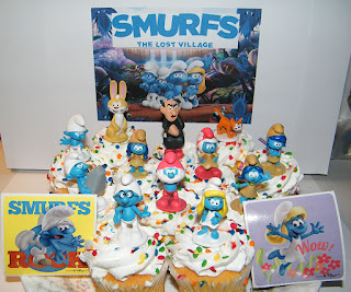 Smurfs: The Lost Village free printables
