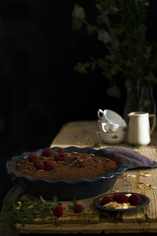 tarta chocolate fácil