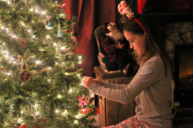 Christmas Tree Decorating with Kids