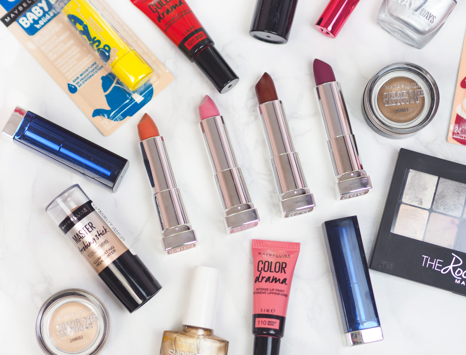 Maybelline Autumn 2016 New Launches