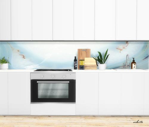 Sims Stuff 4 Kitchen: The Best: Kitchen Panels By Viikiita