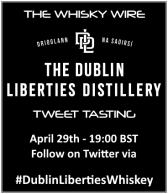 The Dublin Liberties Distillery Tweet Tasting