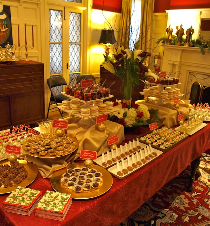 christmas dessert table ideas photograph party style xmas. Black Bedroom Furniture Sets. Home Design Ideas