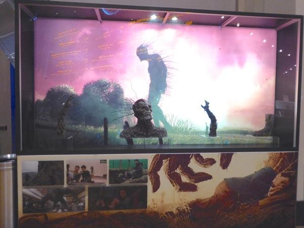A Monster Calls film exhibit