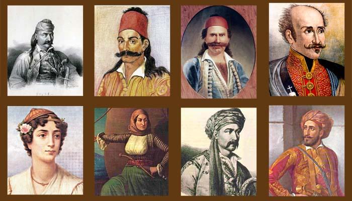 Αποτέλεσμα εικόνας για ηρωες του 1821