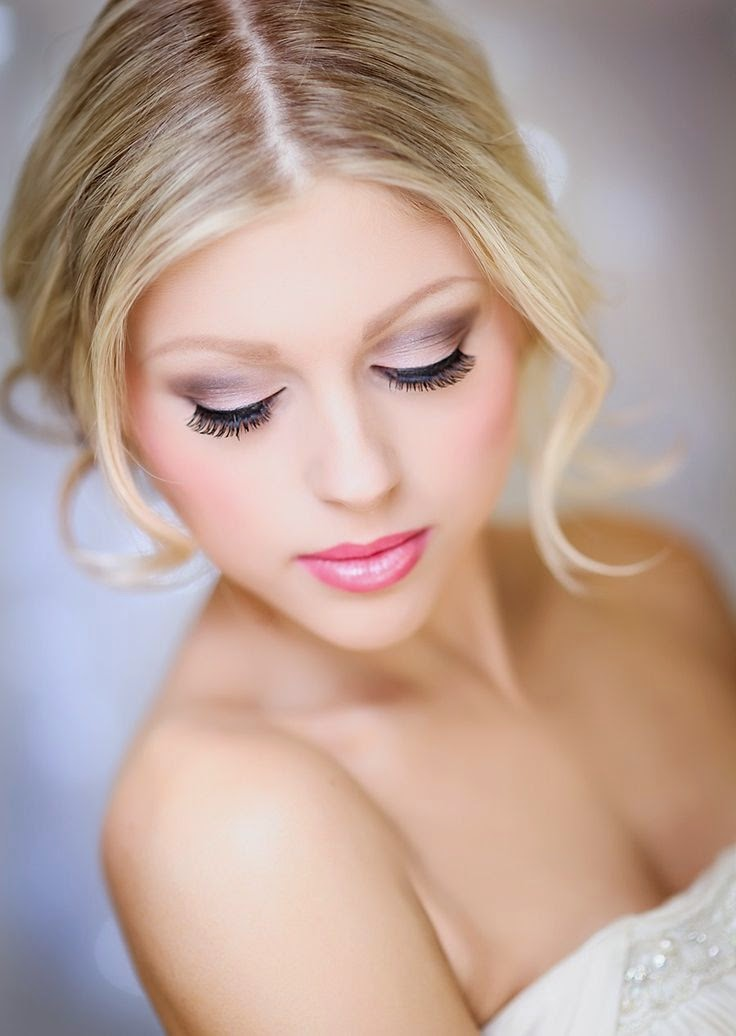 Pink Wedding Make Up