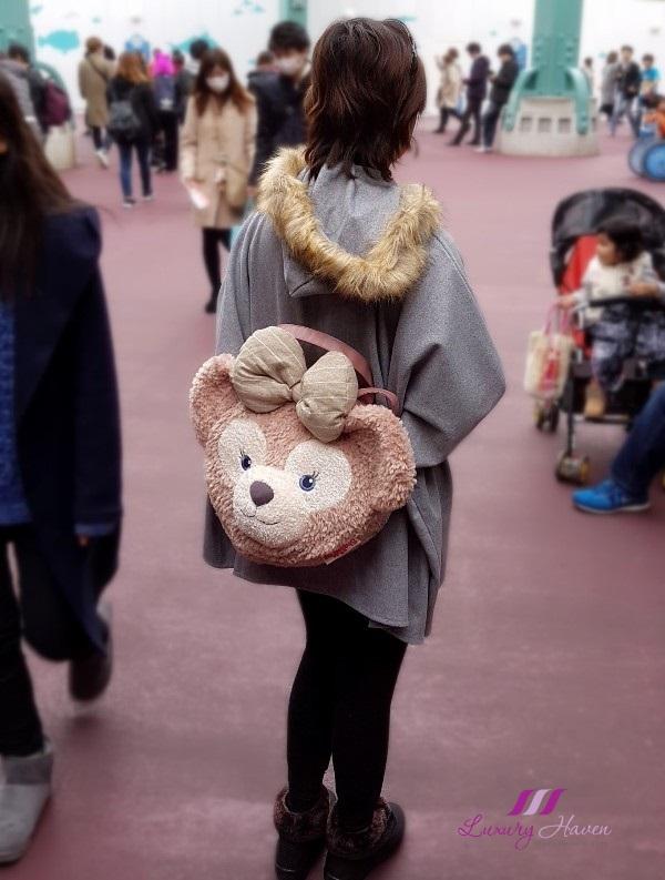 tokyo disneysea shelliemay backpack