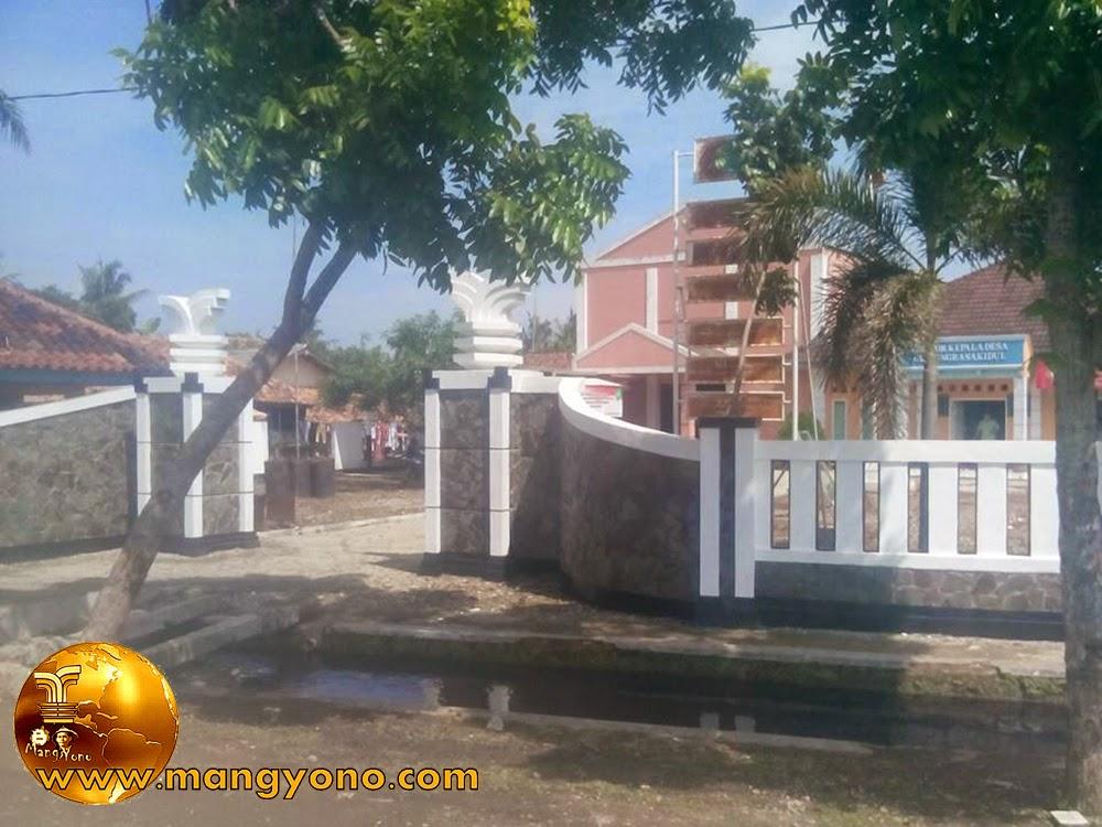 Kantor Desa Tanjungrasa Kidul, Kecamatan Patokbeusi, Kab. Subang, Jawa Barat. Poto jepretan Mang Dawock - Facebooker Subang ( FBS )