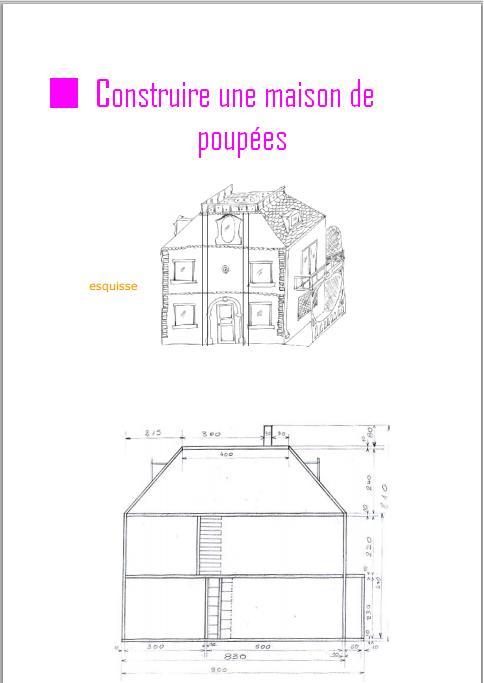 Construire Une Maison De Poupees Pdf