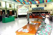 Kasdam XII/Tanjung Pura Buka Taklimat Awal Wasrik Current Audit Itjenad