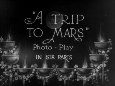 Behind The Scenes: A Trip to Mars (1910)