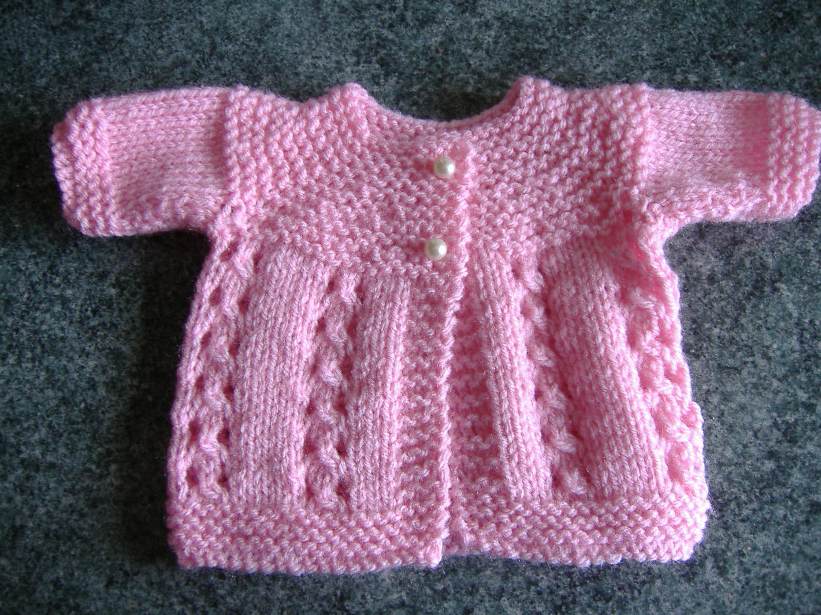 Knitting Pattern Baby Jacket : mariannas lazy daisy days: Premature Baby Jackets
