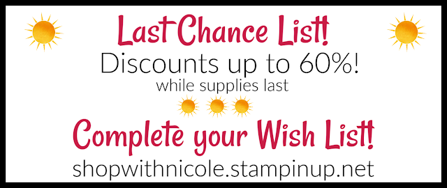 Shop Retiring Stampin' Up! products at discounts | annual catalog | mini catalog