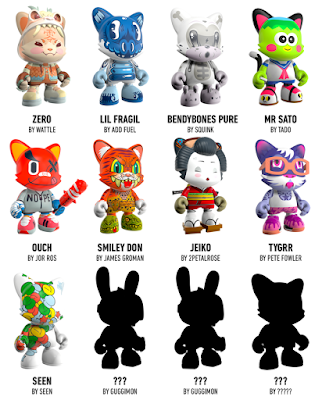Kickstarter Exclusive JANKY Mini Figure Blind Box Series 2 by SUPERPLASTIC