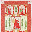 Holiday 2013 Quilt kit Here Comes Santa