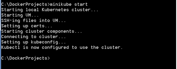 how to run eval minikube docker-env on windows