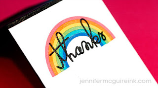 Colorful die cut inlaying 3 ways video  - Jennifer McGuire