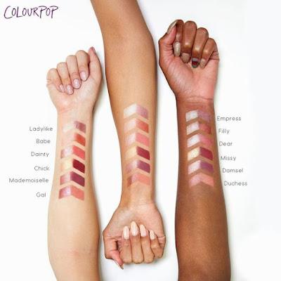 Karrueche x ColourPop She da ColourPop