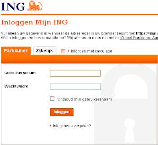 ING Inloggen
