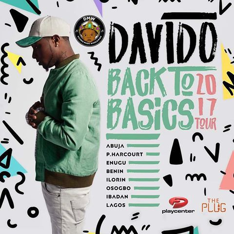 Davido Announces His First Ever Music Tour 'Back2Basics 2017' in Nigeria & Cities