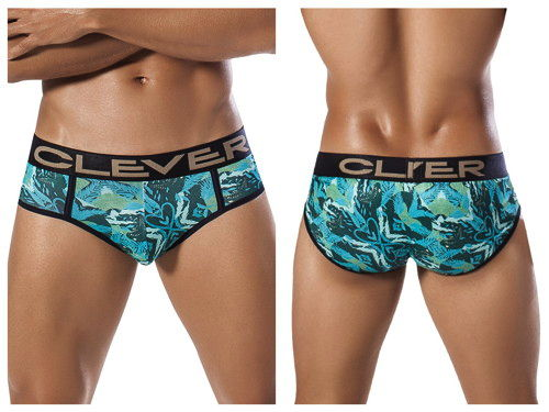 CLEVER Natural Snake Piping Brief ブリーフ 5258