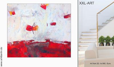 Farbenfrohe Bilder, junge Kunst steigern unser Wohlbefinden.