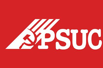 Bandera del P.S.U.C