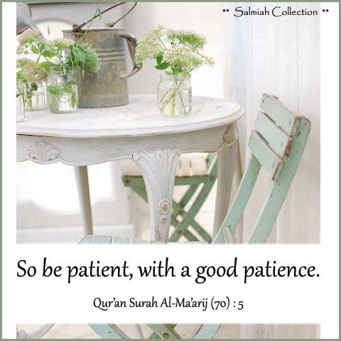 Qur'an Surah Al Ma'arij (70) : 5