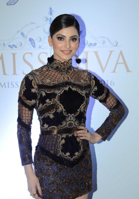 Urvashi Rautela at Miss Diva 2016 Final