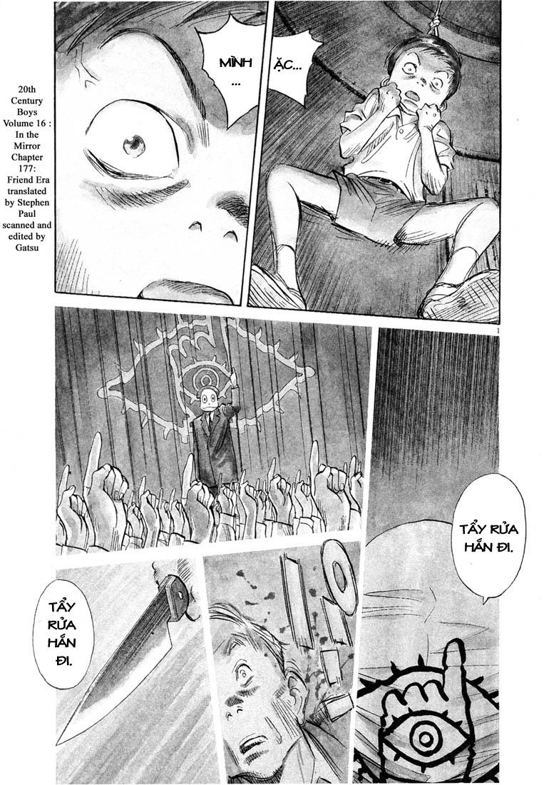 20th Century Boys chapter 177 trang 3
