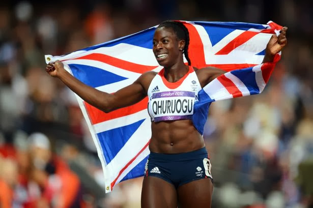 Olympics women Christine Ohuruogu Britain gold