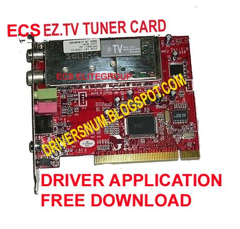 ECS EZ-TV TUNER CARD TVP3XP DOWNLOAD DRIVER