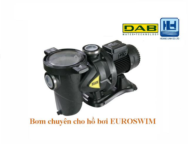 may bơm hồ bơi euroswim hãng dab