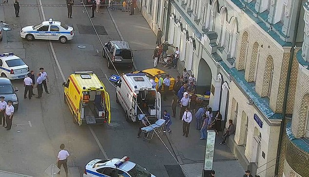 8 injured as taxi drove into 'World Cup fans' in Moscow