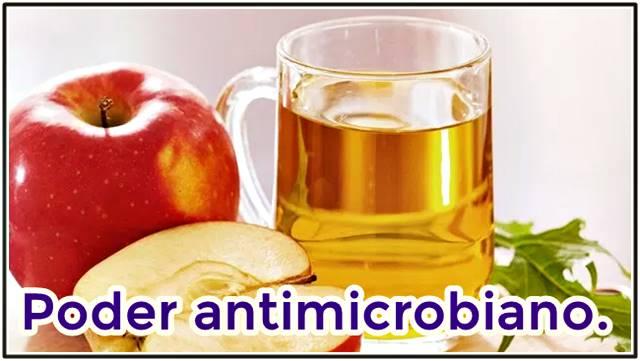 El poder antimicrobiano del vinagre de manzana