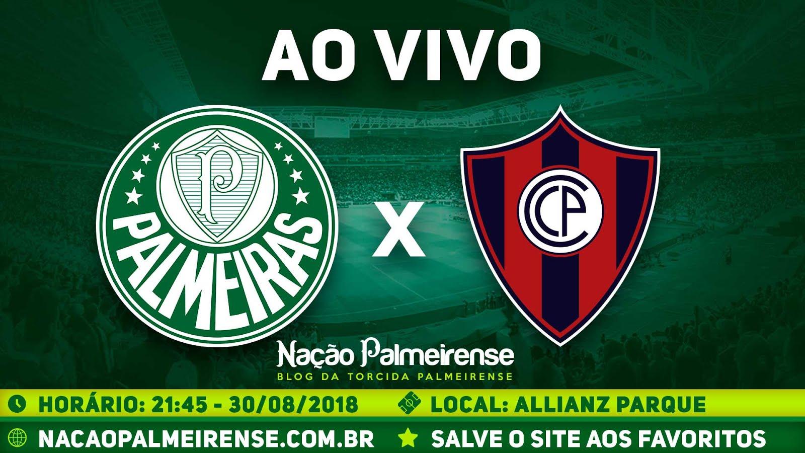 Assistir Palmeiras x Cerro Porteño Ao Vivo