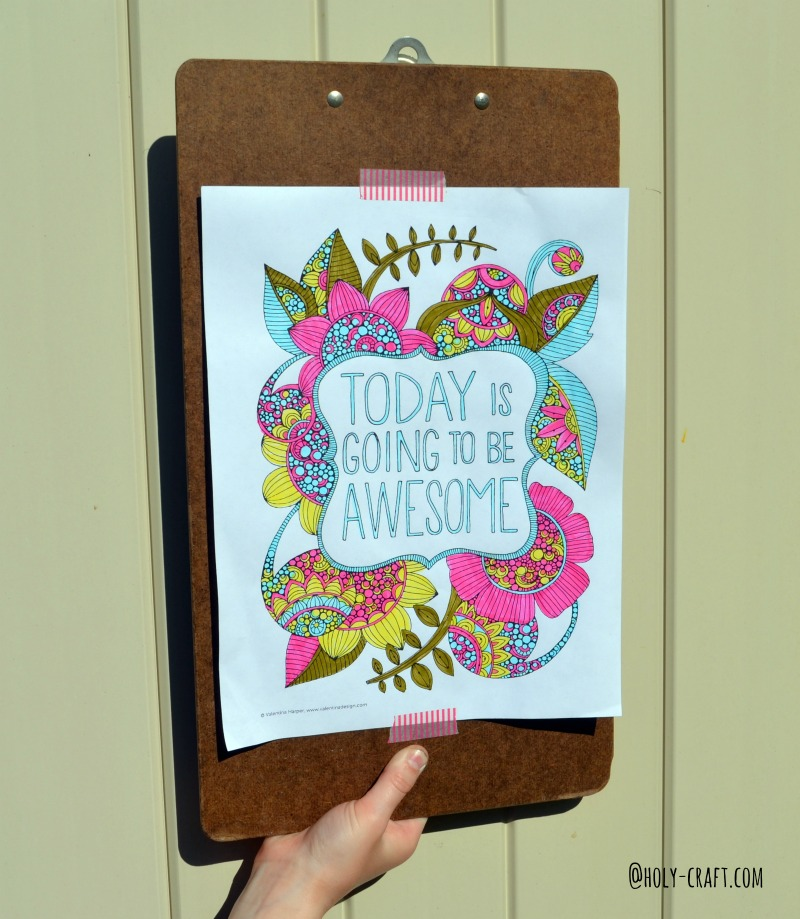 Free Coloring Pages Round Up For Grown Ups Datfeata Blog Title