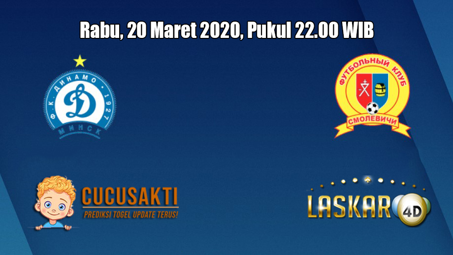 Prediksi Dinamo Brest VS Smolevichi 20 Maret 2020