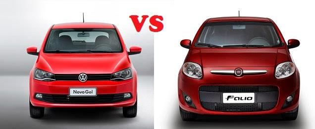 Comparativa Volkswagen Gol Trend vs Fiat Palio