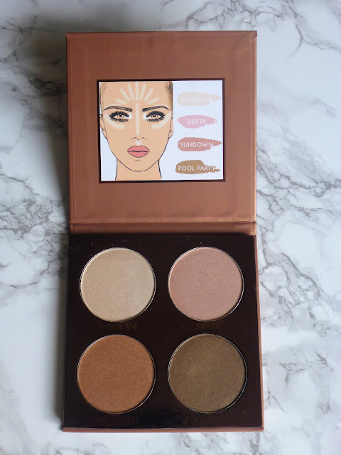 PS Bronze Highlight and Glow Palette