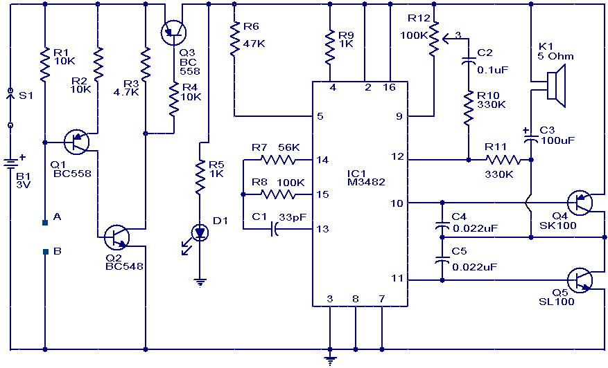 M%2B3482%2BAlarm%2BWater%2BSensor%2BCircuit R Car Alarm Wiring Diagram on shock sensor internal, giordon 1 way, for auto data 410, viper 671 installation, for audiovox aps15ch,
