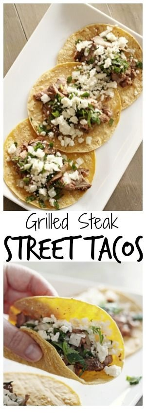 Grilled Steak Street Tacos