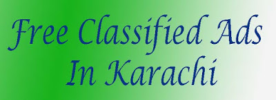 Free Classified Ads in Karachi
