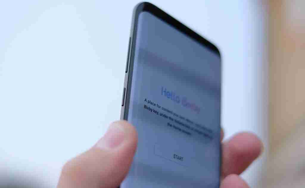 Bixby Button Placement On the Samsung Galaxy S9