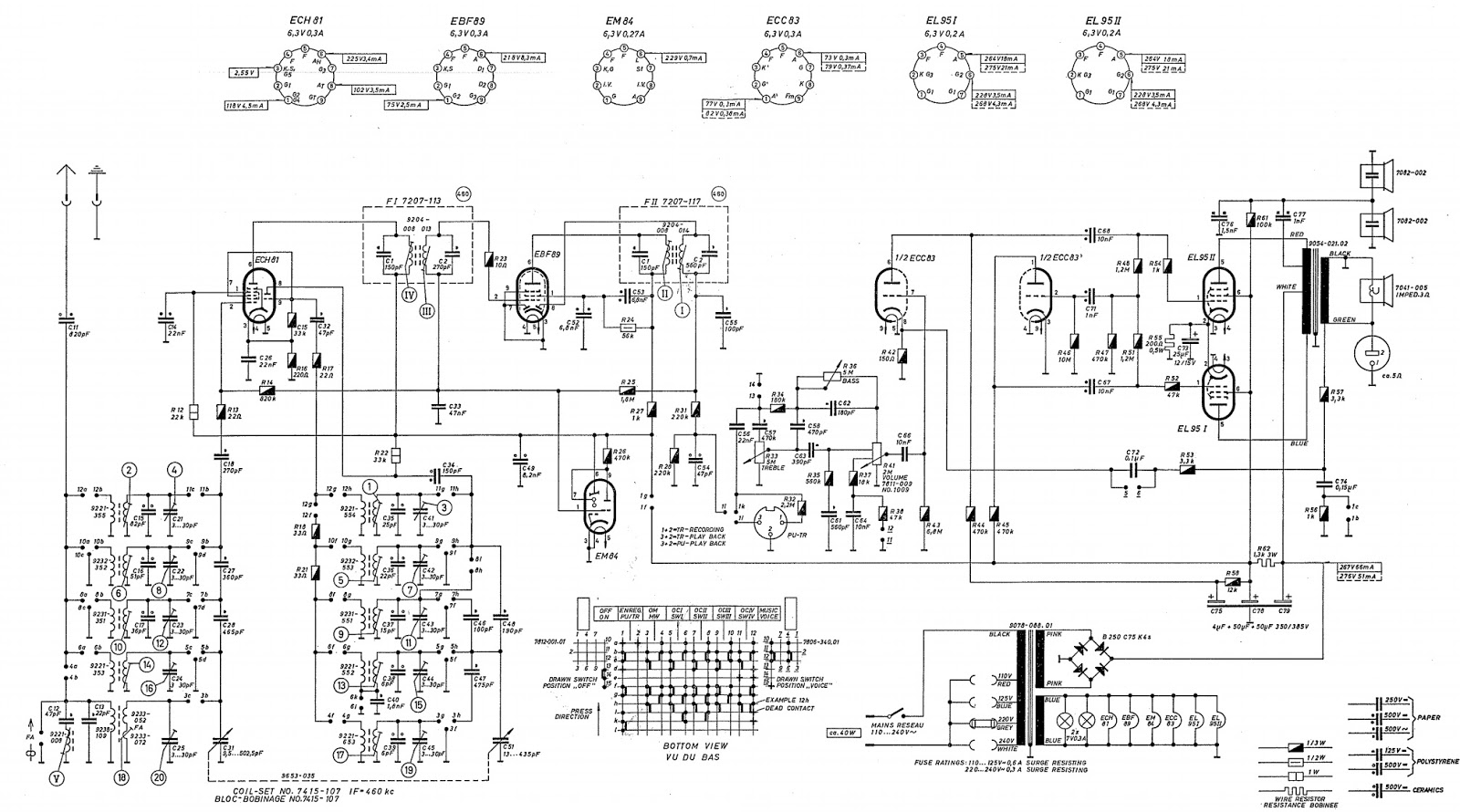 Valve Radio Circuit Diagrams Ic Wire Highgainamplifier Amplifiercircuit Diagram Seekiccom Grundig 3160we 3165we